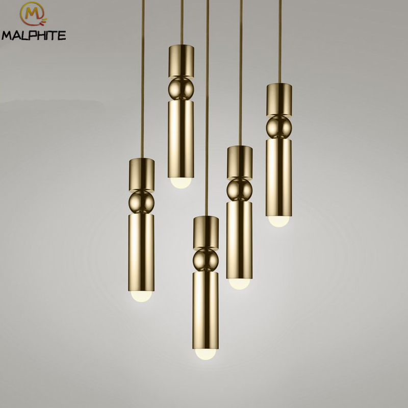 Lee Broom FULCRUM LED Pendant Lights Modern Restaurant Iron Pendant Lamps Nordic Cafe Cylindrical Decorative Lighting Fixtures