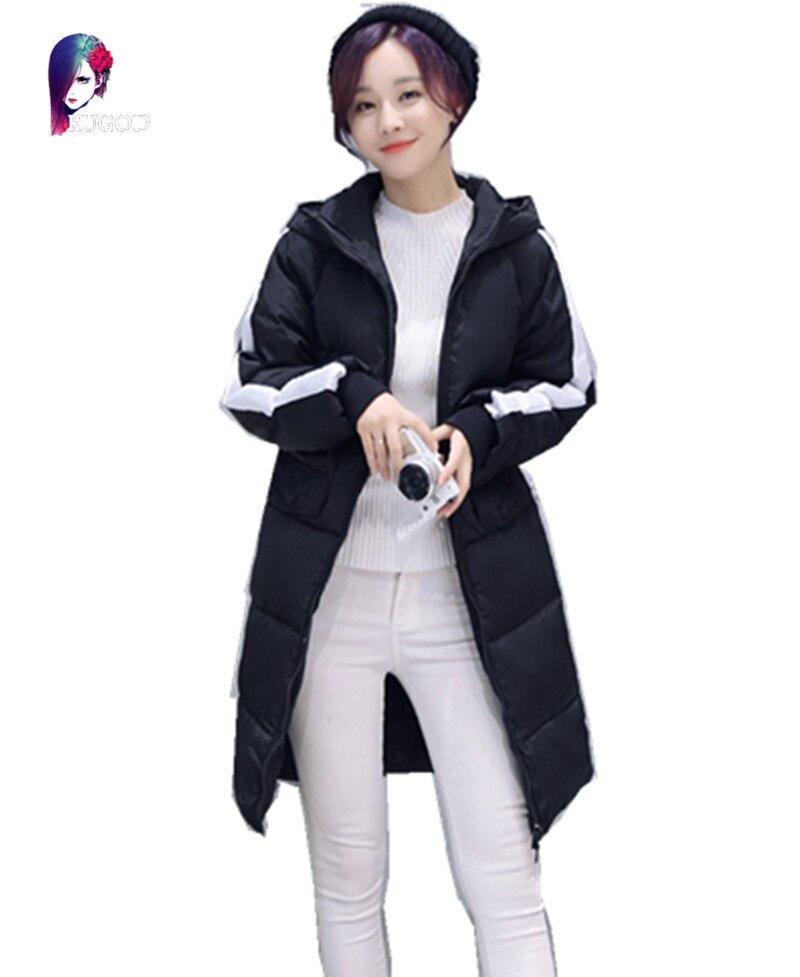 2016 Winter New font b Jacket b font Women Slim Long Section font b Jackets b