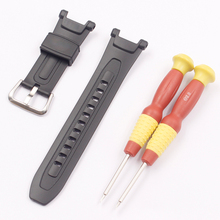 Acessórios de relógio para casio PRG 40 PRG 240 bracelete de borracha resina
