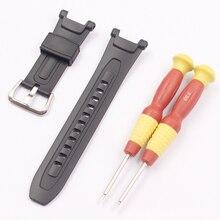 Guarda accessori per CASIO PRG 40 PRG 240 resina cinturino in gomma