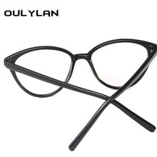 Oulylan Cat Eye Retro Optical Glasses Frames 2018 Transparent Glasses Women Frame Ultra Light Frame Clear Lens men Eyeglasses