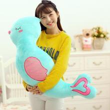 plush new creative cartoon bird pillow toy stuffed lovely blue bird doll gift about 100x28cm