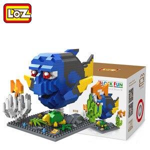 Image 2 - Bloc de construction LOZ, personnages daction, diamants, jouets et cadeaux de noël, 9726