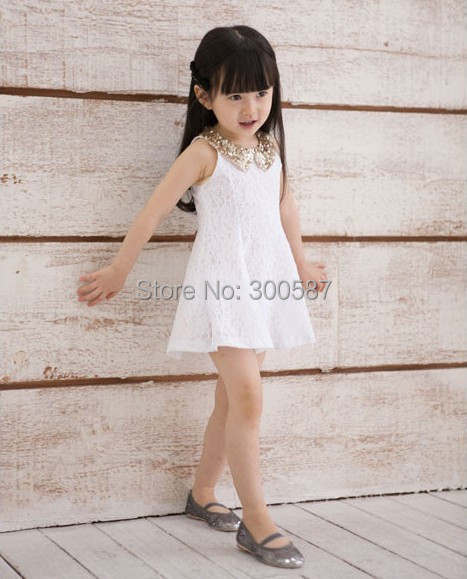 Розничная, высокое качество, новое летнее кружевное стильное платье принцессы с цветочным узором для девочек детская одежда