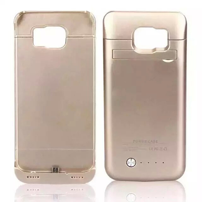 4200mAh External Battery Charger Power Bank covers For Samsung Galaxy S6 Galaxy S6 edge battery Pack