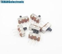 20 x SS12D00G3 2 Position SPDT 1P2T 3 Pin PCB Panel Mini Vertical Slide Switch