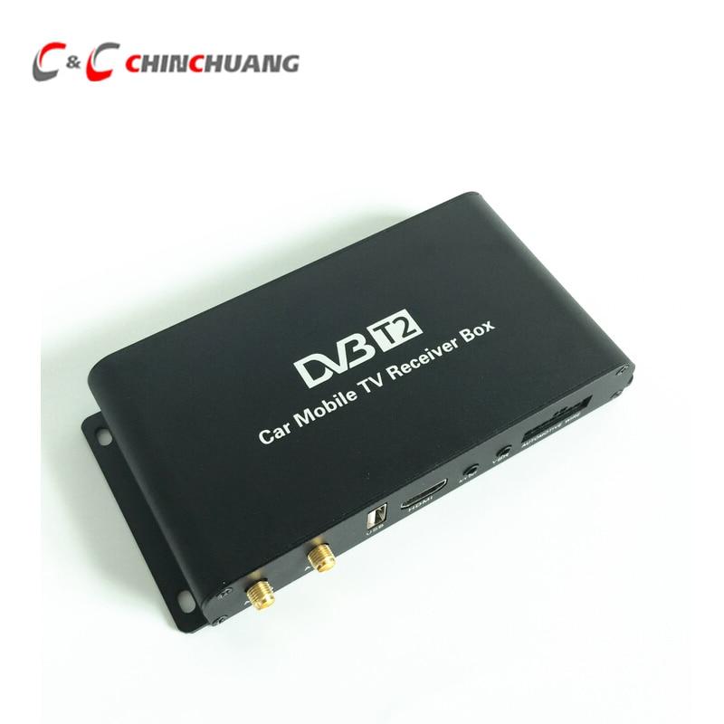 180 200km H Speed Driving DVB T2 Car 4 Antenna 4 Mobility Chip DVB T2 Car
