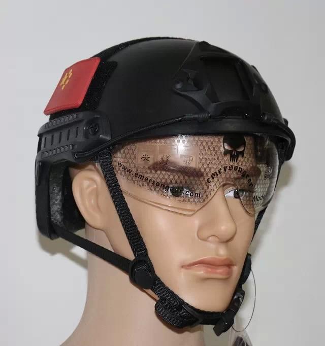 Новый Спорт на открытом воздухе Тактический БЫСТРО MH очки шлем Airsoft Пейнтбол База Перейти шлем защитный Тактический шлем Пейнтбол Шестерни