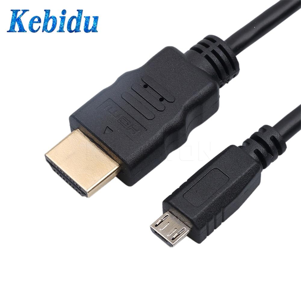 Duttek 1,8 m Cable para tel/éfono m/óvil Color Blanco