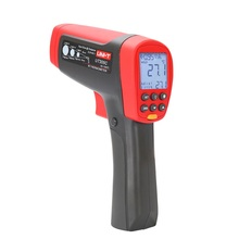 UNI-T UT305C hand-held infrared thermometer, non-contact industrial electronic thermometer-50~1550 degrees USB data transmission free shipping fast measurement infrared industrial thermometer hand held non contact industrial body thermometer