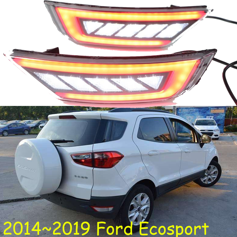 Bumper light for Ecosport 2015 2019year Ecosport rear lamp fusion car styling 2pcs taillamp for ecosport