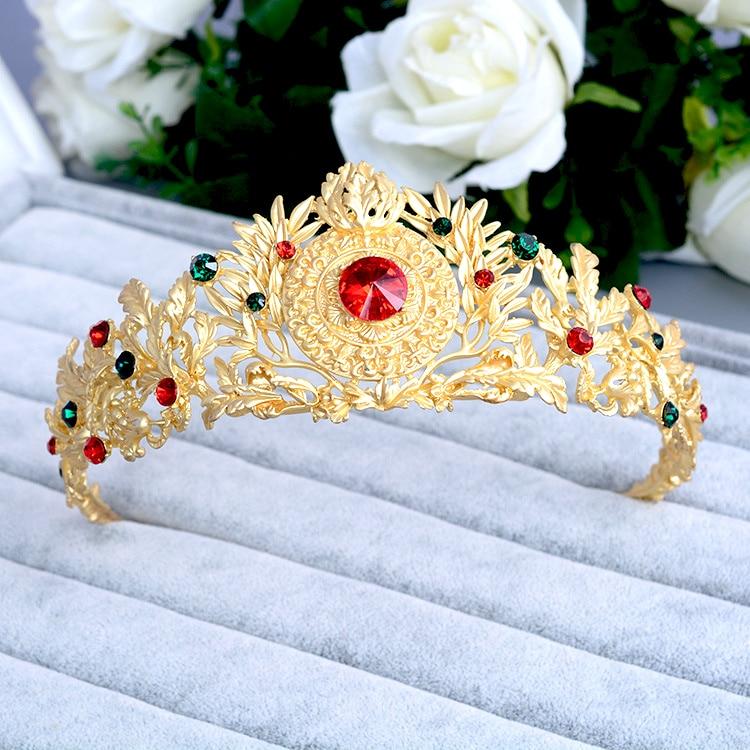 ᗐHG280 невесты Корона Свадебные аксессуары дРя воРос высокого