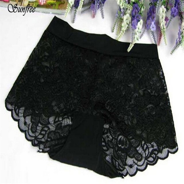 7ff8828238b5 Sunfree 2016 Hot Sale Sexy 1PC Women Lace Panties Underwear Transparent  Comfort Knickers breathable transparent underwer Oct 28