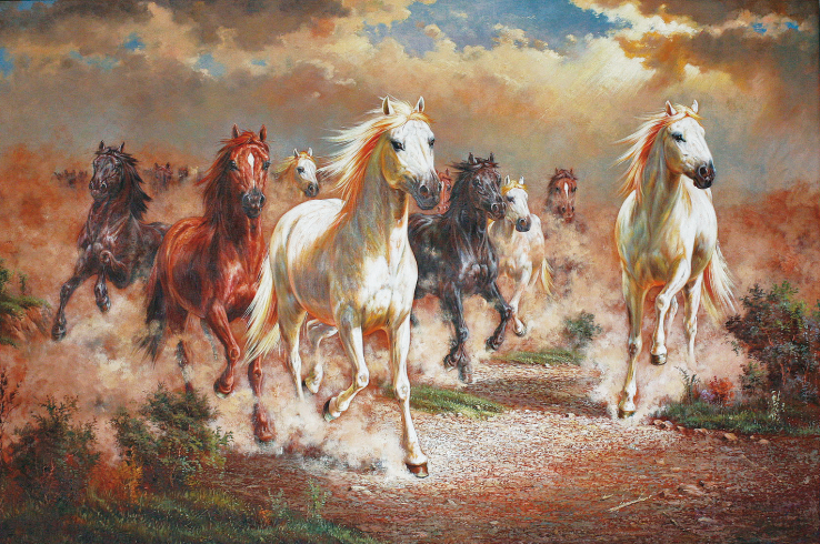 Wholesale oil painting good quality top decor art for Oil paint price