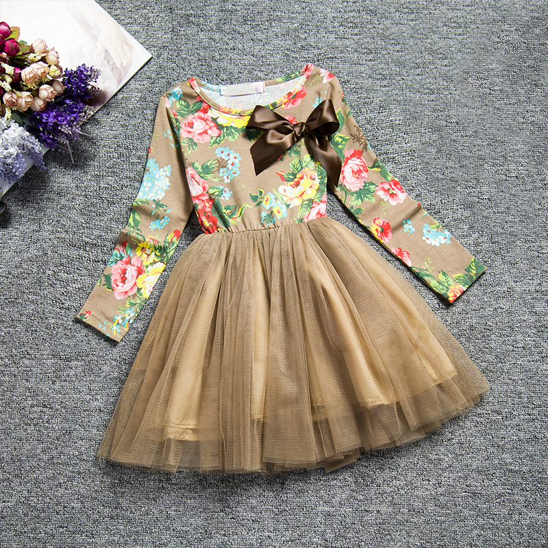 Baby Girl Dresses Princess Toddler Girls Flower Dresses Halloween Party Tutu Dress for Girls Kids Clothing Wedding Costumes