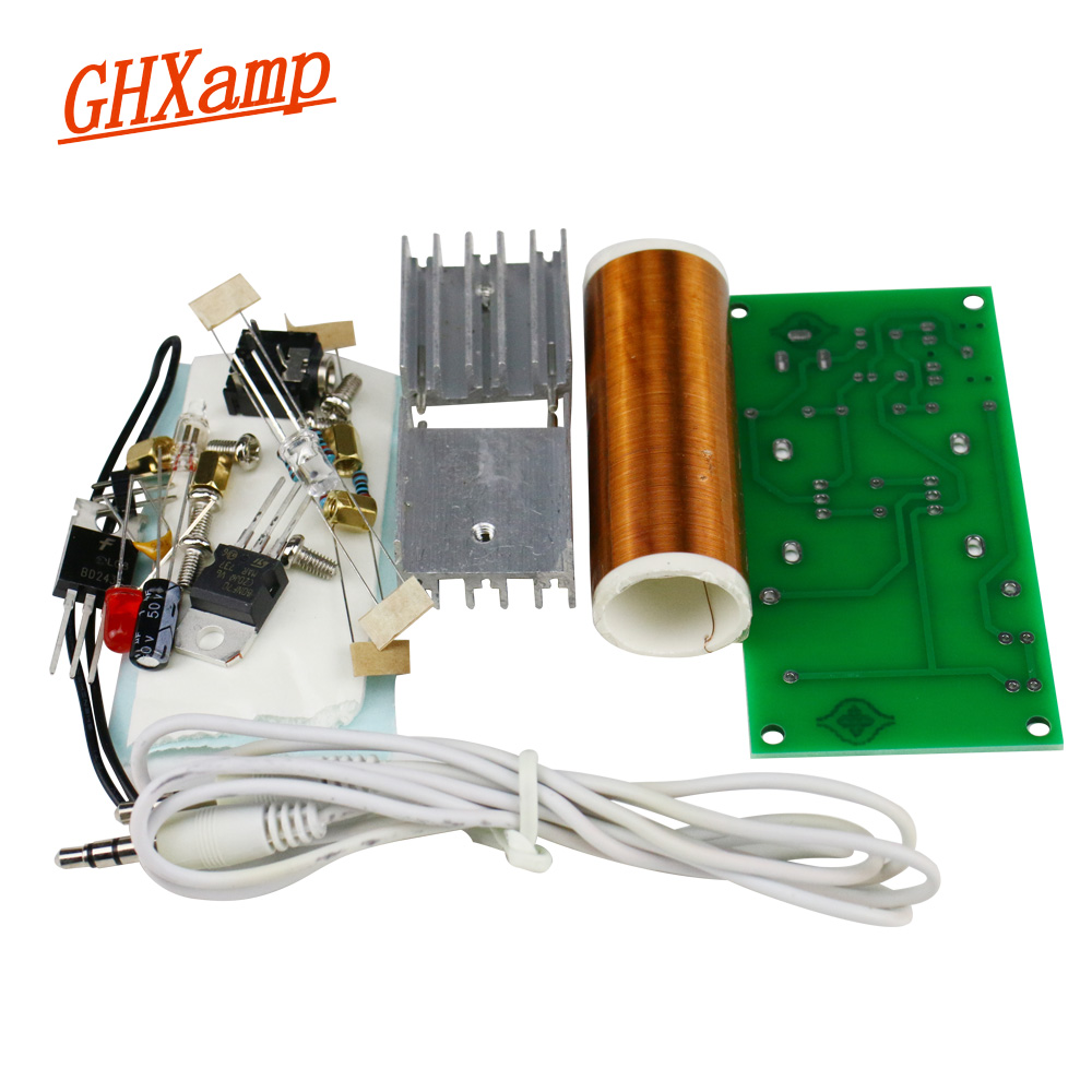 Mini Diy Tesla Coil Kit Arc Wireless Electric Power Transmission Usd 1199 36 White 12v Led Circuit Board Rv Boat Light Bulb 1156 Ghxamp Speaker Music 15w Plasma Audio Sound For Mobile Phone Mp3 Computer