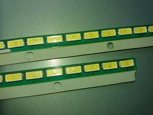 "Image 3 - A Pairs 55"" 6916L1745A 6916L1746A 6922L 0087A For Skyworth Led Strip 72LEDS 605MM"