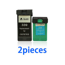 For HP 339 ink cartridge Photosmart 2575 2610 8050 8150 Deskjet 460 5940 6520 6540 6620 printer cartridges 344