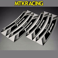 MTKRACING 8X Motorcycle Inner Rim Decals Accessory Wheel Sticker Stickes Strips For APRILIA TUONO V4 1100 RR Free Ship