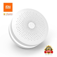 Xiaomi MI Mijia Original Smart Home Multifunction Gateway Internet Radio 16 Million Color Night Light Custom