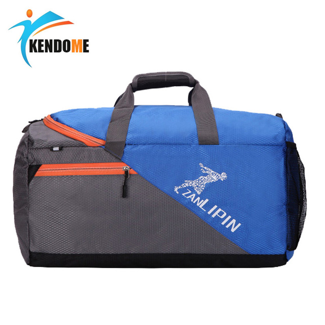 Large Capacity Training Gym Bag Outdoor Waterproof Nylon Sports Luggage Duffels Bag Multifunction Shoulder Handbag for Men Women