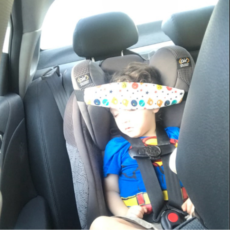 New Car Seat Safety Locator Baby Headrest Baby Carriage Bracket Modeling Children Carrying Adjustable Belt Fixing Tool
