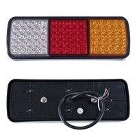 LED Tail Lights 12V Brake Reverse 75LEDs Trailer Truck Boat Utes Indicator Lamp