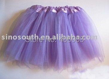 ; ; фиолетовая юбка-пачка для маленьких девочек