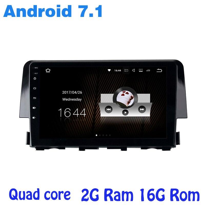 Android 7 1 Quad core font b car b font radio gps player for honda new
