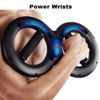 Double Ring Arm Strength Exercise Hand Muscle Grip Power wrists Grip Strength Power Wrists Training Sports Fitness Equipment
