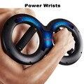 Dubbele Ring Arm Kracht Oefening Hand Spier Grip Power polsen Grip Sterkte Power Polsen Training Sport Fitnessapparatuur