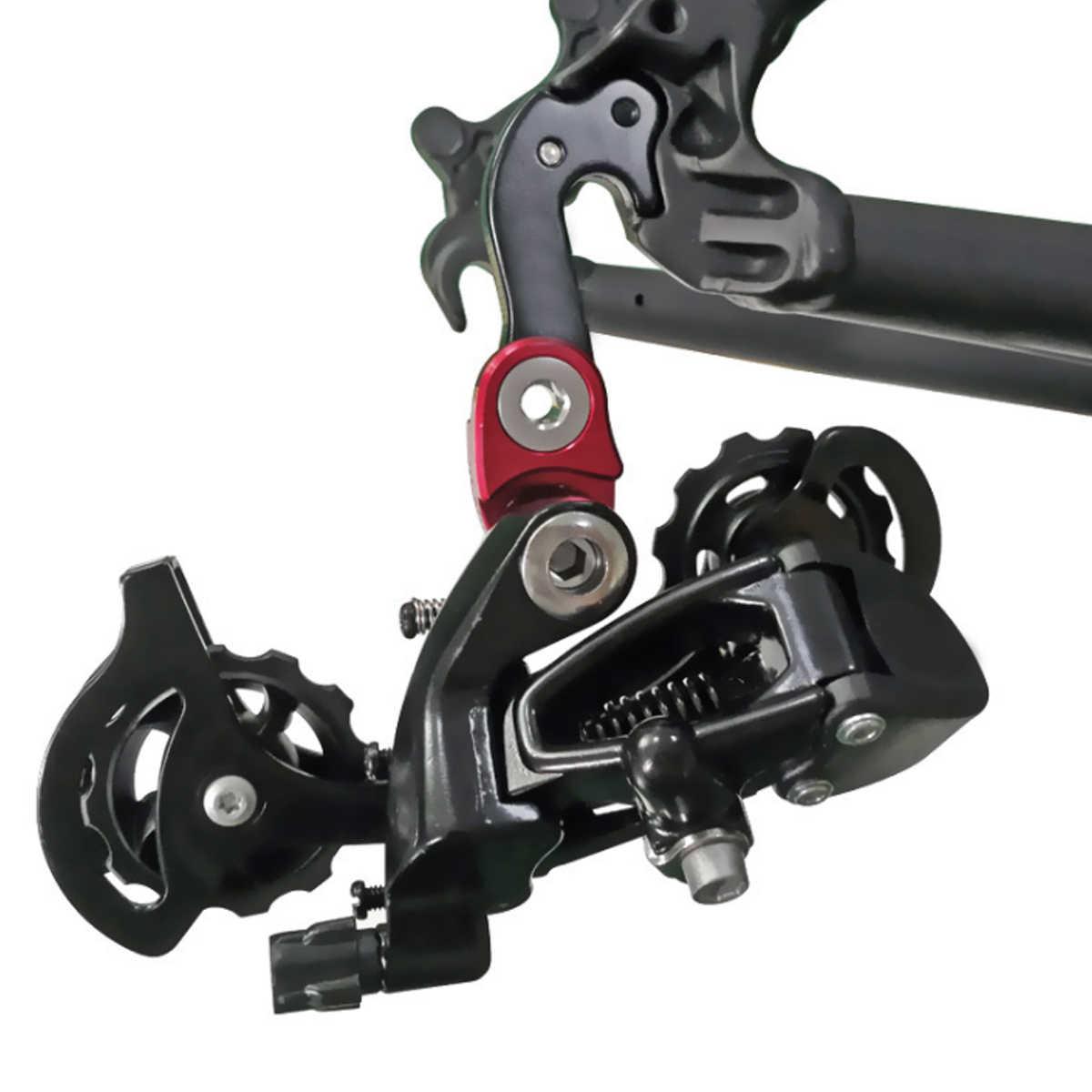 وصلة تمديد الدراجة الجبلية للدراجات النارية الجبلية الخلفية لتكبير التروس الخلفية