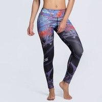 J & L Femmes Fitness Leggings S-3XL Plus Taille Pantalon 2017 Nouvelle Mode Imprimé Femme Pantalon Ropa Deportiva Mujer Gymnases DropShip