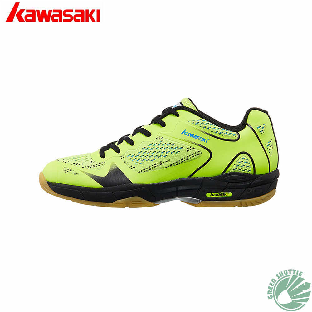 2019 Genuine Kawasaki Badminton Shoes For Men And Women High Elastic EVA Midsole More Stable When Jump  Landing K-352 Sneaker