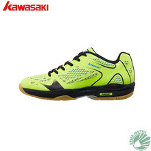 2019 Genuine Kawasaki Badminton Shoes For Men And Women High Elastic EVA Midsole More Stable When Jump Landing K-352 Sneaker(China)