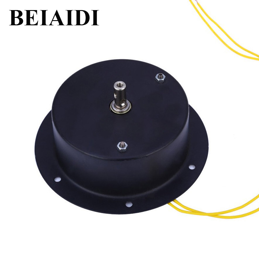 BEIAIDI 1.5 RPM Glass Rotating Mirror Disco Ball Motor Hanging DJ Mirror Reflection Ball Lighting For Christmas New Year Decor