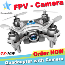 Mini Drone with Camera hd Cheerson CX-10W Quadcopter
