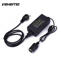 Vehemo 220V AC To 12V DC Car Cigarette Lighter Power Converter Adapter Plug 50/60Hz
