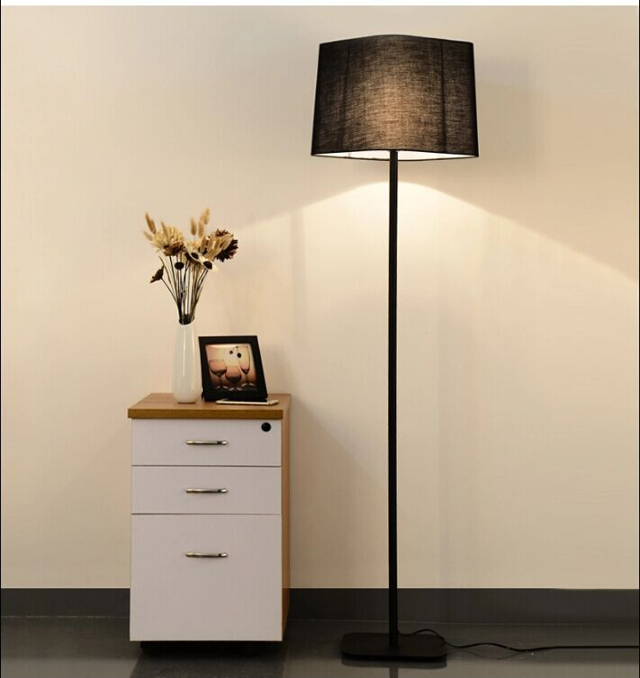 the new living room floor lamp lamp nordic hotel project