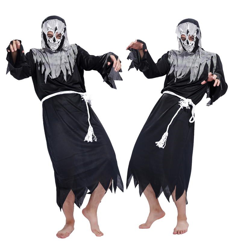 angel of death halloween costume halloween costume dress up cos props masquerade costume death haunted house - Masquerade Costumes Halloween