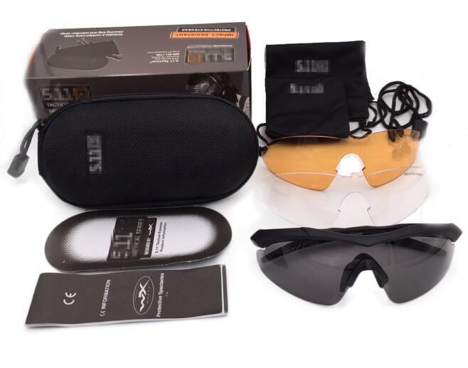 Prix pour Nouveau Modèle Marque 5 11 Lentille Package Complet TR90 Tactique lunettes Hommes lunettes de Soleil Lunettes Extérieure Croix armée Lunettes lunettes de sport campagnol