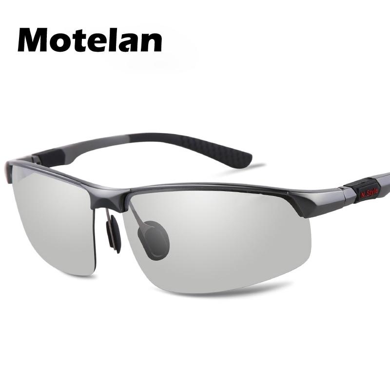 47284f9d8e New Men s Photochromic Polarized Sunglasses Brand Designer for Drivers Male  Safety Driving Fishing Goggle UV400 Sun Glasses-in Sunglasses from Apparel  ...