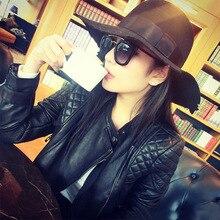 2019 PU Leather Jacket Women Slim Short Motorcycle Autumn Winter Coat Brand Streetwear Outwear P-007
