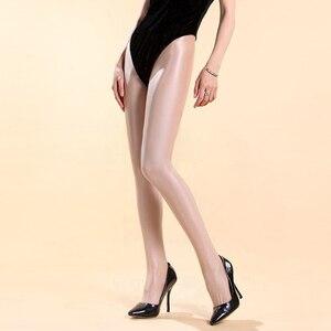 Image 2 - Trajes de baile de Jazz para mujer, Sexy, club nocturno, cantante, escenario, Beyonce, rendimiento, pantimedias gruesas y brillantes, reflectantes, DN1661