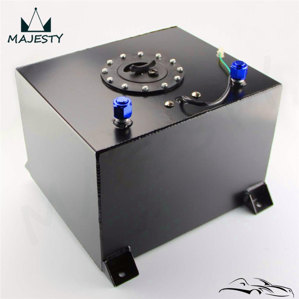 Level Sender Black Aluminum 8 Gallon 30.5 Liter Racing Drift Fuel Cell Tank