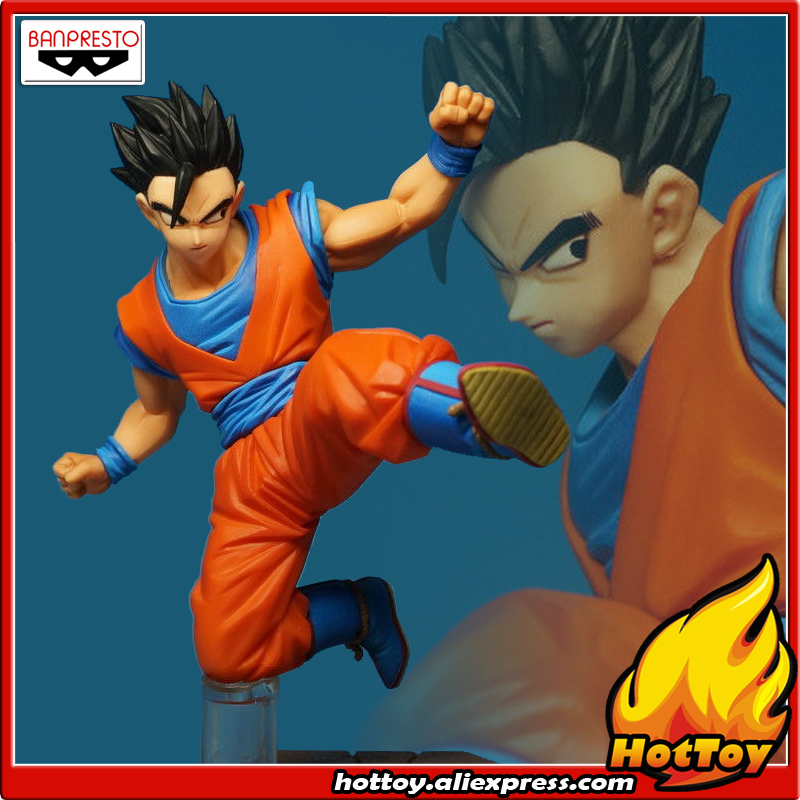 100% Original BANPRESTO DXF Fighting Combination Vol.4 Complete Collection Figure - Ultimate Son Gohan from Dragon Ball Z the complete crumb comics vol 8