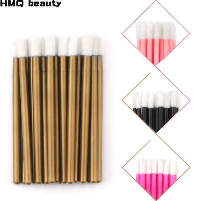 50pcs Disposable Eyelashes brush Individual Lash Removing Cleaning  Mascara Applicator Makeup Brushes For Eyelash Extension Tool