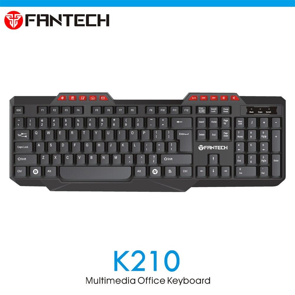 FANTECH K210 Multimedia Office Keyboad 13