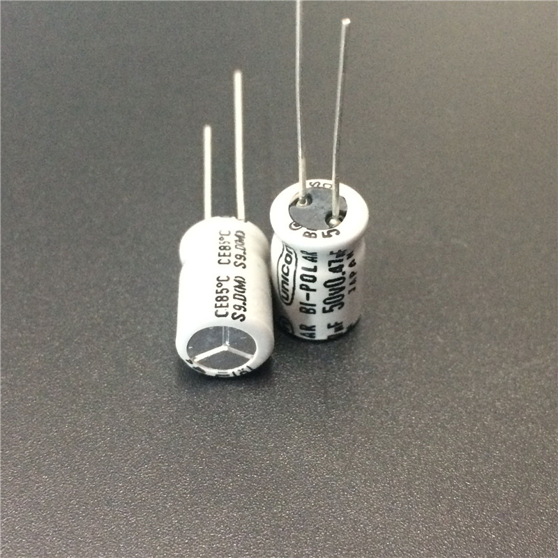 10pcs 0.47uF 50V Japan UNICON 8x11.5mm 50V0.47uF Bipolar Non Polarity Capacitor