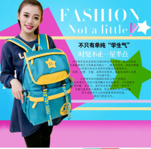 Waterproof backpack Korean fashion casual men and women travel bag 2018 new